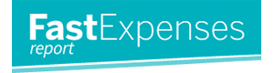 Fast Expenses Report Logo